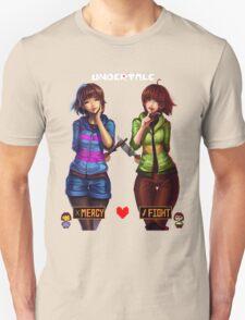 Undertale Mercy or Fight Unisex T-Shirt