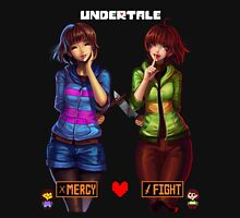 Undertale Mercy or Fight Mens V-Neck T-Shirt