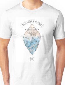 Geometric bear iceberg Unisex T-Shirt