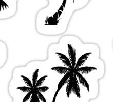 Palm Tree Sticker Pack Sticker