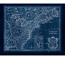 American Revolutionary War Era Maps 1750-1786 174 A new map of the British Dominions in North America with the limits of the governments annexed thereto by Inverted Photographic Print