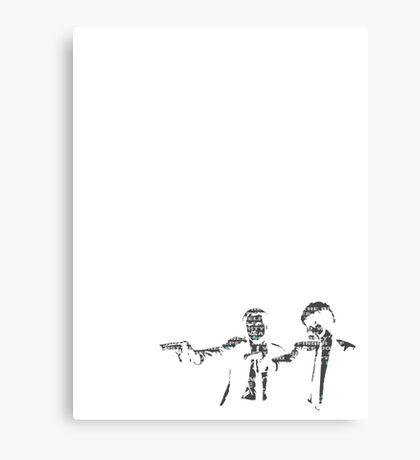 Pulp Fiction Canvas Print