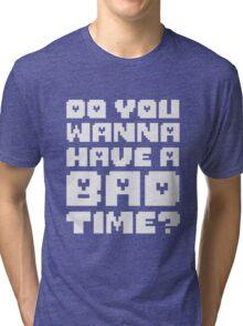 Undertale - Bad Time Tri-blend T-Shirt