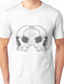 Two Skulls Unisex T-Shirt