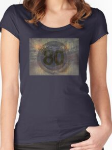 Graphic 80 Women's Fitted Scoop T-Shirt