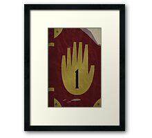 Journal 1 - Gravity Falls Framed Print