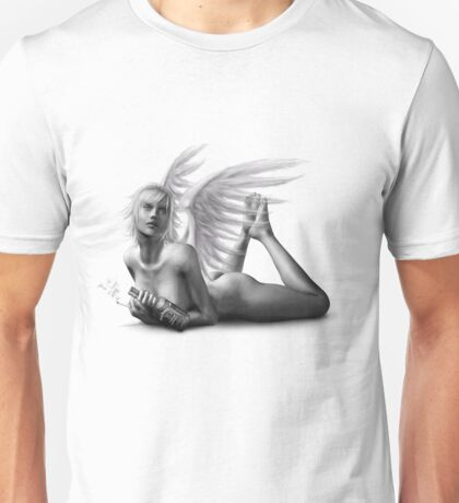 Rock Angel Pin-Up Girl Unisex T-Shirt