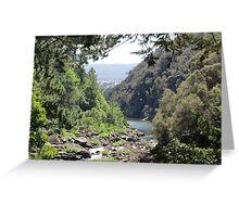 Launceston Gorge Greeting Card