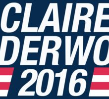 Claire Underwood 2016 Sticker