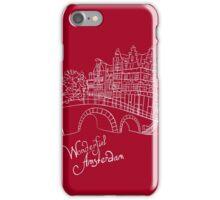 Wonderful Amsterdam iPhone Case/Skin