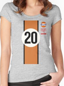 917 Le Mans McQueen 20 Women's Fitted Scoop T-Shirt