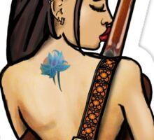 Cyn & Her Guitar Sticker