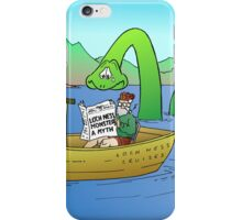 Extra! Extra! Loch Ness Monster a Myth! iPhone Case/Skin