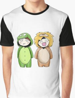 Dan and Phil Onesie Appreciation Graphic T-Shirt