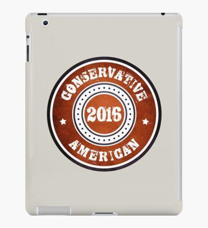 Conservative American iPad Case/Skin