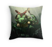 Viridian Forest Throw Pillow