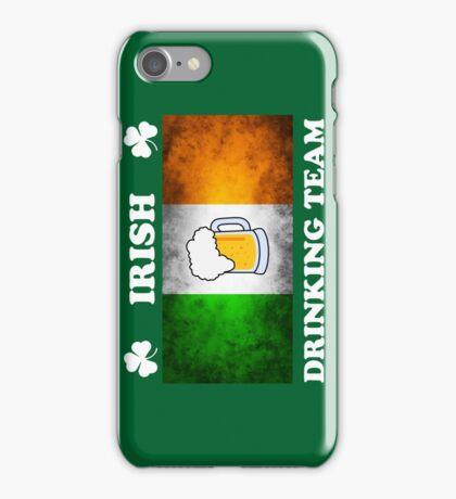 Irish Drinking Team (A) iPhone Case/Skin