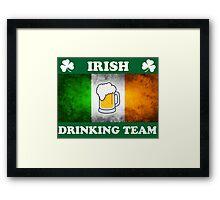 Irish Drinking Team (A) Framed Print