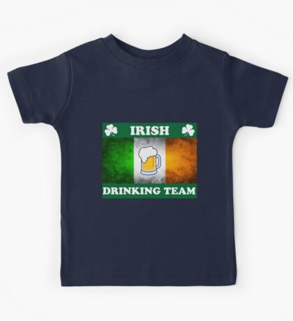 Irish Drinking Team (A) Kids Tee