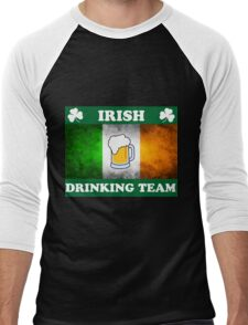 Irish Drinking Team (A) Men's Baseball ¾ T-Shirt