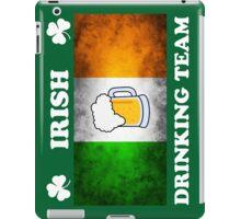 Irish Drinking Team (A) iPad Case/Skin