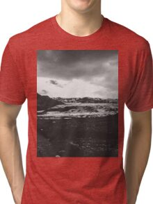 Ice giant - black and white landscape photography Tri-blend T-Shirt