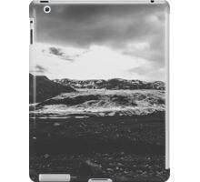 Ice giant - black and white landscape photography iPad Case/Skin