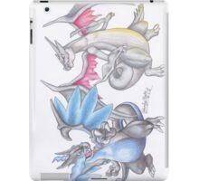 Mega Charizard & Shiny Mega Charizard Y iPad Case/Skin