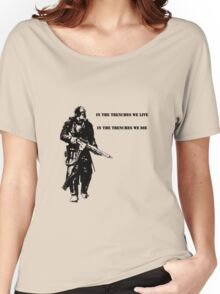 In the trenches Women's Relaxed Fit T-Shirt