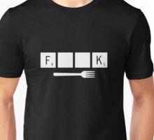 Scrabble Fork Unisex T-Shirt