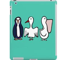 Trio of Birds #2 iPad Case/Skin