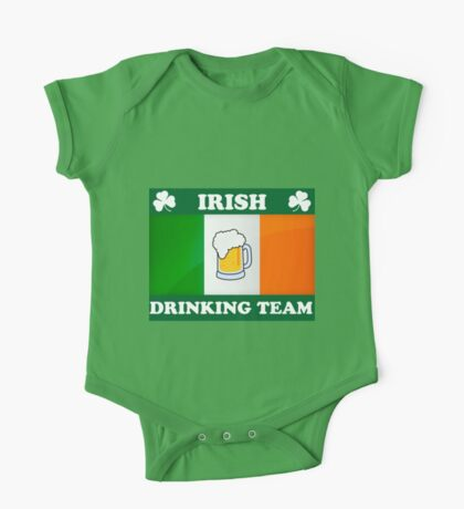 Irish Drinking Team (B) One Piece - Short Sleeve