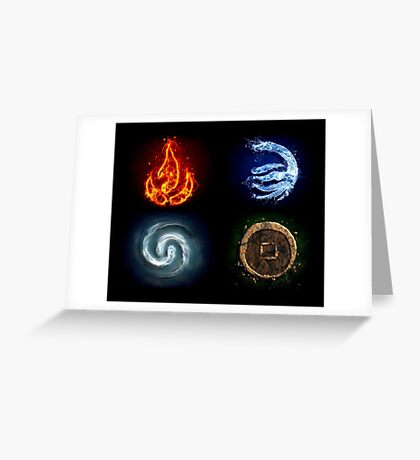 All element Avatar Greeting Card