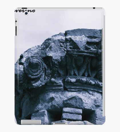 museum , architerture, column, history, pompeii iPad Case/Skin