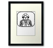 BDBDBDBD!  Framed Print