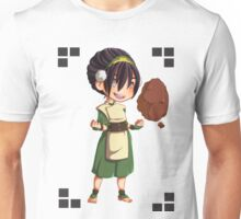 Toph with Rock Unisex T-Shirt