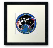 Soyuz 21 ISS Mission patch Framed Print
