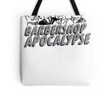 barbershop apocalypse  Tote Bag