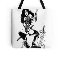 Analog Barbarian Queen  Tote Bag
