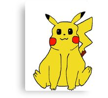 Pokemon Pikachu Canvas Print