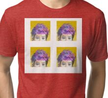 Cotton Candy Punk Tri-blend T-Shirt