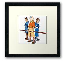 Team Avatar Cool Framed Print