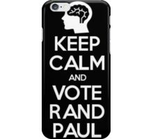 Keep Calm And Vote Rand Paul iPhone Case/Skin