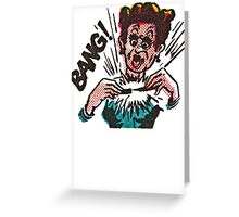 Exploding Pen Greeting Card