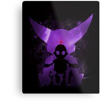 Ratchet & Clank Galaxy (Purple Version) Metal Print