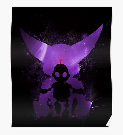 Ratchet & Clank Galaxy (Purple Version) Poster