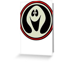 Ghost Logo  Greeting Card