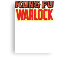 Kung Fu Warlock  Canvas Print