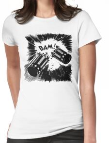 BAM!  Womens Fitted T-Shirt