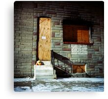 Boarded Up Canvas Print